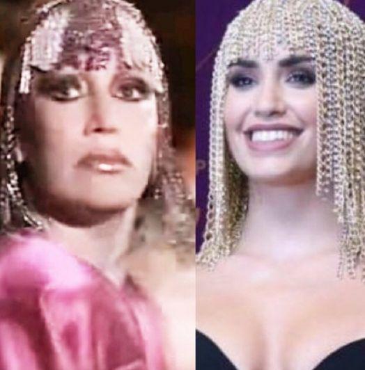 Moria Casán acusó a Lali Espósito de haberle copiado el look