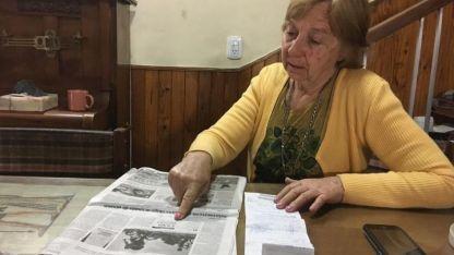 María Teresa Ambrosini es jubilada y pagó la sanción. Luego, la Policía Vial anunció que le reintegrarían el dinero.