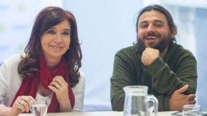 CFK, junto a Grabois.