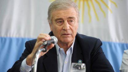 Oscar Aguad, ministro de Defensa de la Nación.