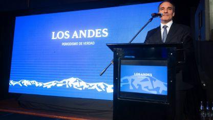 Luis García, gerente general de Los Andes.