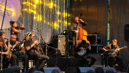 Los sonidos de Nueva Orleans son los que surgen de los instrumentos de la referente West Jazz Band.