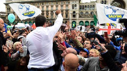 El italiano Matteo Salvini, uno de los impulsores de la ultraderecha nacionalista en Europa.