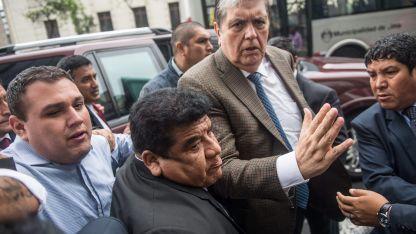 EL ex presidente peruano Alan García.