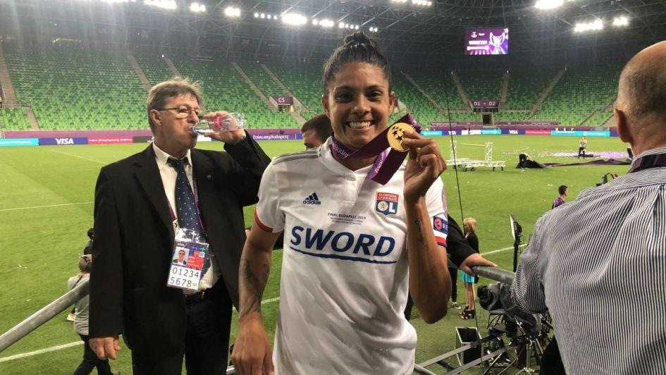 Soledad Jaimes, la primera argentina en ganar una Champions League