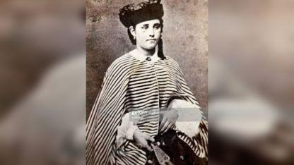 Teresita. hija de la brasileña Ana María de Jesús Ribeiro da Silva.