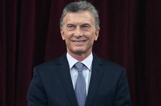 El Presidente de la Nación, Mauricio Macri.