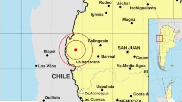 Fuerte sismo asustó a los mendocinos esta mañana