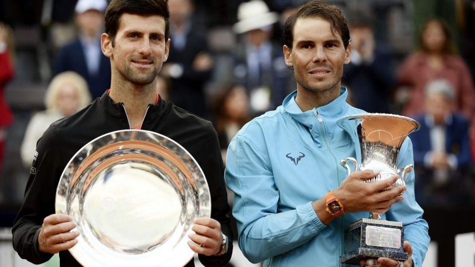 Djokovic, Nadal y Federer; prestigioso podio de la ATP antes de Roland Garros