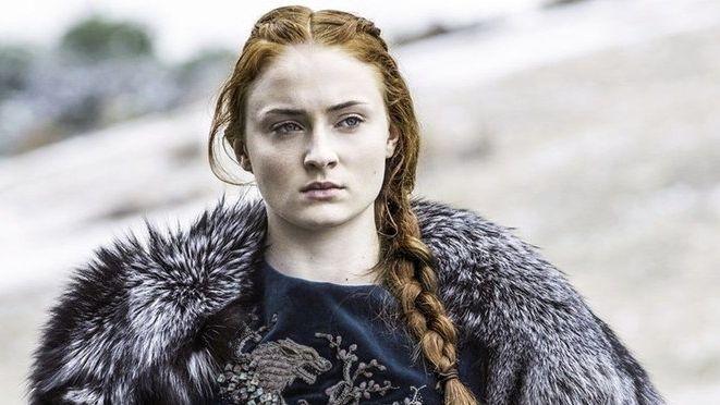 Así se despidió Sophie Turner de su personaje Sansa Stark de
