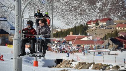 Servicios. En Las Leñas ampliaron las pistas para esquiar.