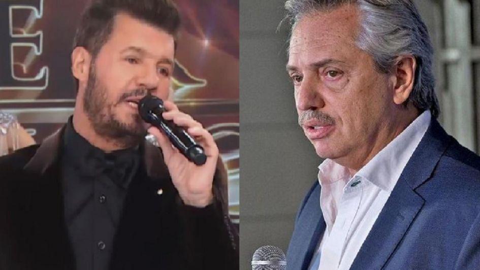Tinelli sobre la candidatura Alberto Fernández: