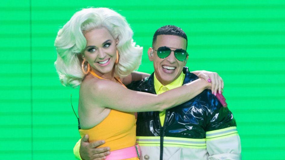 Daddy Yankee y Katy Perry sorprendieron en la Tv al cantar juntos