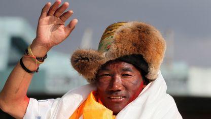 Kami Rita, el sherpa récord en el Everest.
