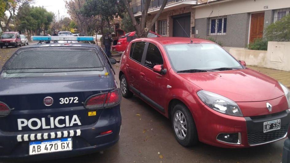 Video: así capturaron a los roba-ruedas in fraganti en Godoy Cruz