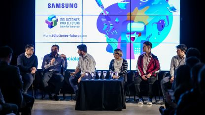 Fernando Carolei entrevista a ganadores y finalistas de Soluciones para el Futuro 2018