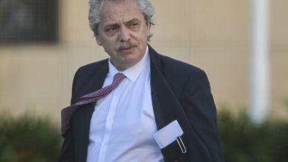 Alberto Fernández llama al diálogo.