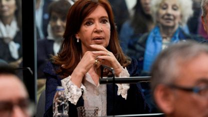 Cristina no iría presa porque tiene fueros parlamentarios hasta 2023.