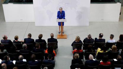 Parlamento. Theresa May se presentó ante la Cámara de los Comunes y defendió su plan.