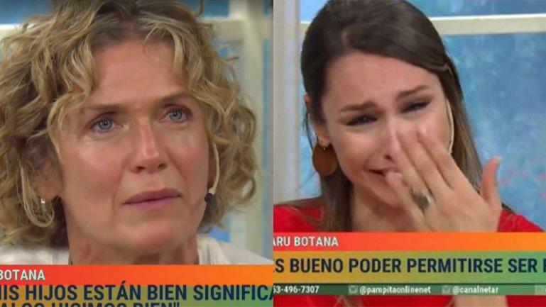 Pampita y Maru Botana rompieron en llanto al recordar a sus hijos
