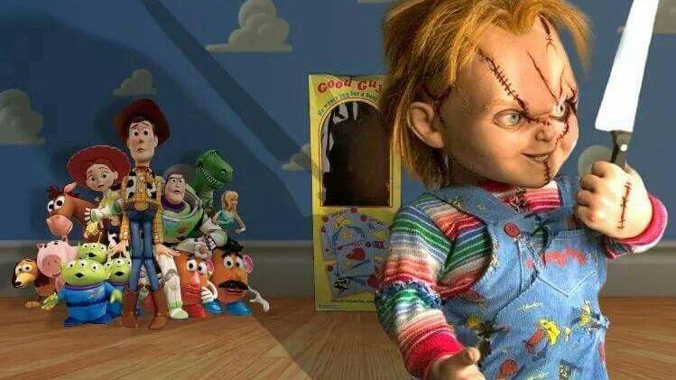 """Chucky """"asesinó"""" a otro personaje de"""
