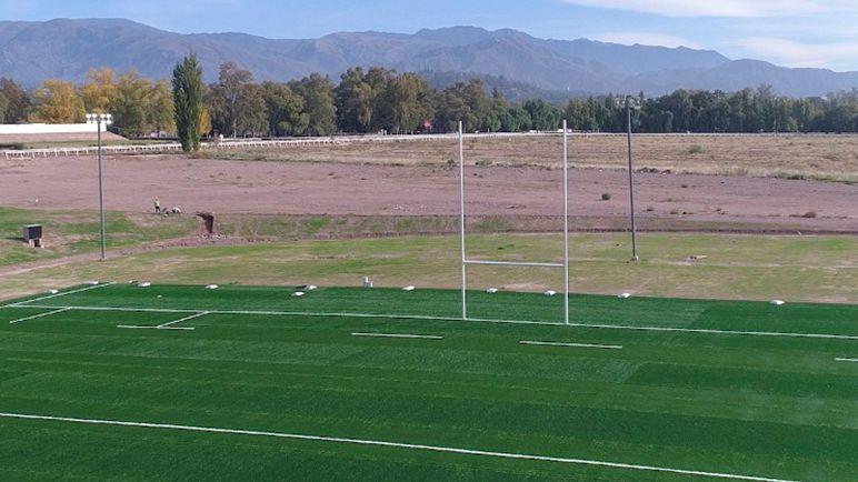 Este jueves quedará inaugurada la cancha de rugby del Hipódromo