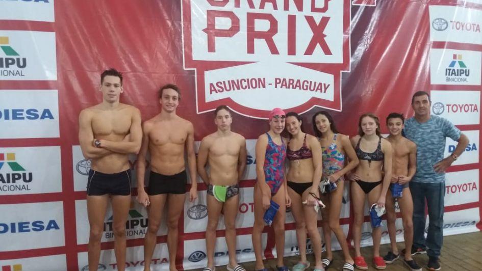 Mendoza participa en el Grax Prix de natación en Paraguay