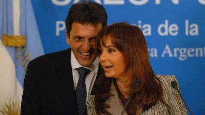 Massa se desempeñó como jefe de Gabinete de CFK entre 2008 y 2009.