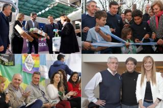 Suárez, De Marchi, Bermejo y Sagasti en diferentes actividades.