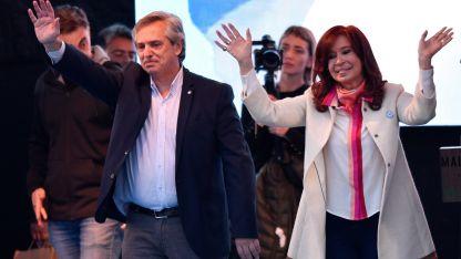 CFK, en su primer acto de campaña junto a Alberto Fernández.