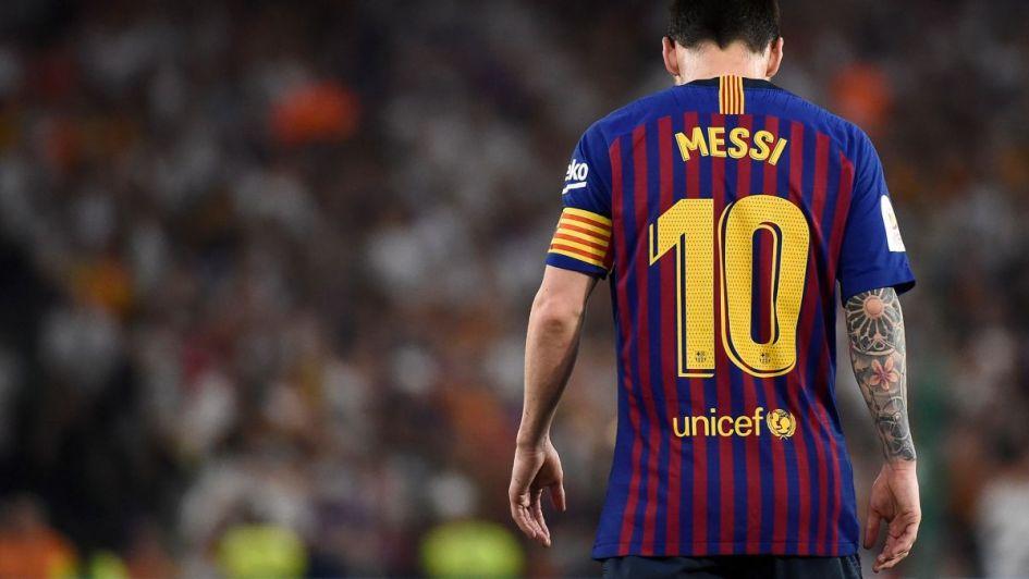 El Barcelona de Messi, en caída libre: perdió la Copa del Rey ante el Valencia