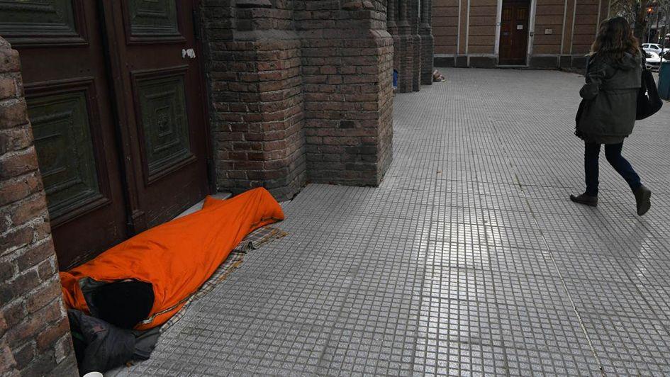 Hay unas 350 personas en situación de calle en el Gran Mendoza