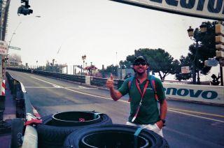 F1. Curva Sainte Devote y la subida de Beau Rivage del circuito monegasco.