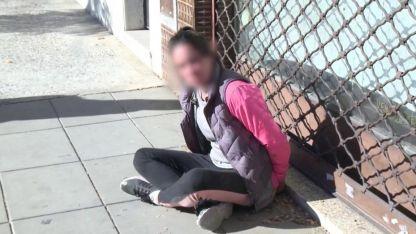 La joven detenida estaban en situación de calle