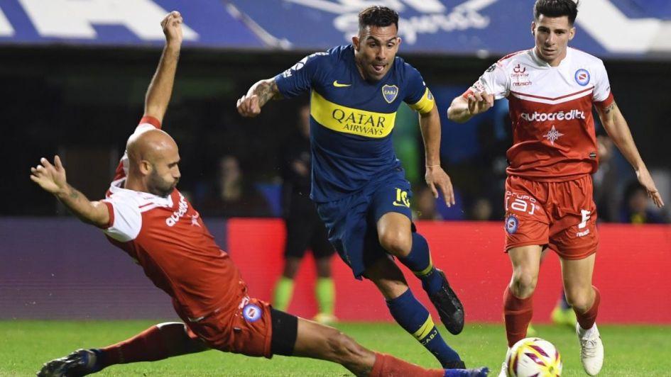 Boca ganó por la mínima ante Argentinos y es finalista de la Copa de la Superliga