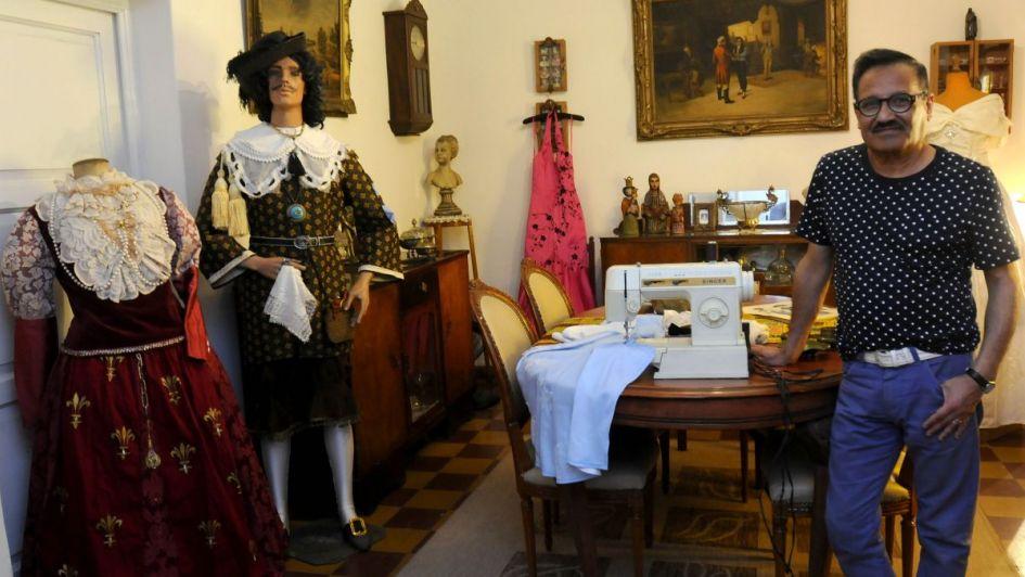 El adiós a Ricardo Tello, un querido vestuarista local