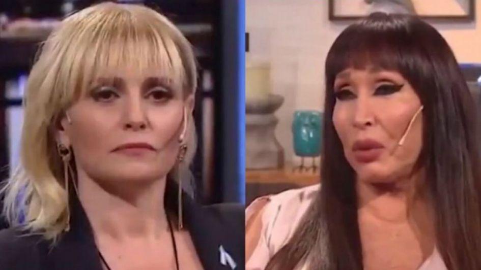 Fortísimo cruce entre Romina Manguel y Moria Casán en