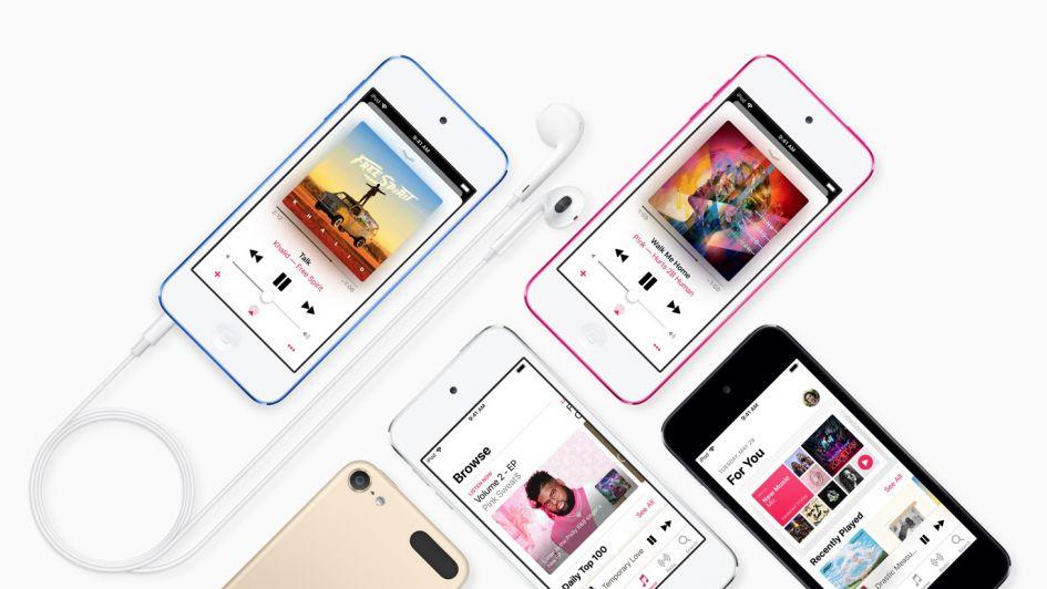 Mirá quién no ha muerto: Applepresenta su primer nuevo iPod en cuatro años