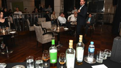 Gonzalo Palacio, embajador de The Macallan para Latinoamérica, ofeció una degustación en Mendoza