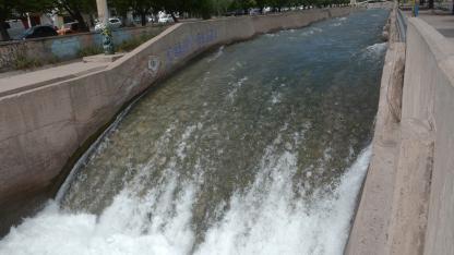 Canales. Las obras se realizaron sobre infraestructura ya existente de Luján, Rivadavia y Junín