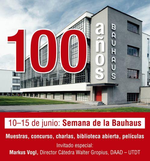 100 años de la Bauhaus en Mendoza