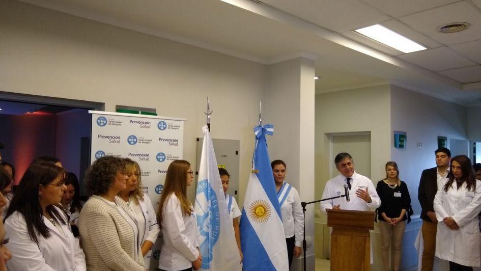 Se inauguró el primer Servicio de Rehabilitación para pacientes internados en un Hospital