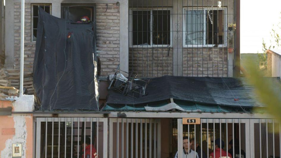 Trágico incendio en Godoy Cruz: creen que una brasa desató el infierno