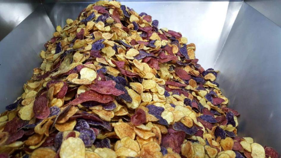 Prueban snacks elaborados con papa andina nativa