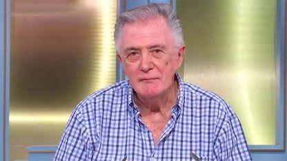 """Lucho Avilés, el periodista es recordado por ciclos de chimentos como """"Indiscreciones""""."""