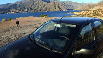 Precaución. Dejar el auto en la costa por unas horas, puede resultar engorroso propietario, debido a la acción de merodeadores en la zona