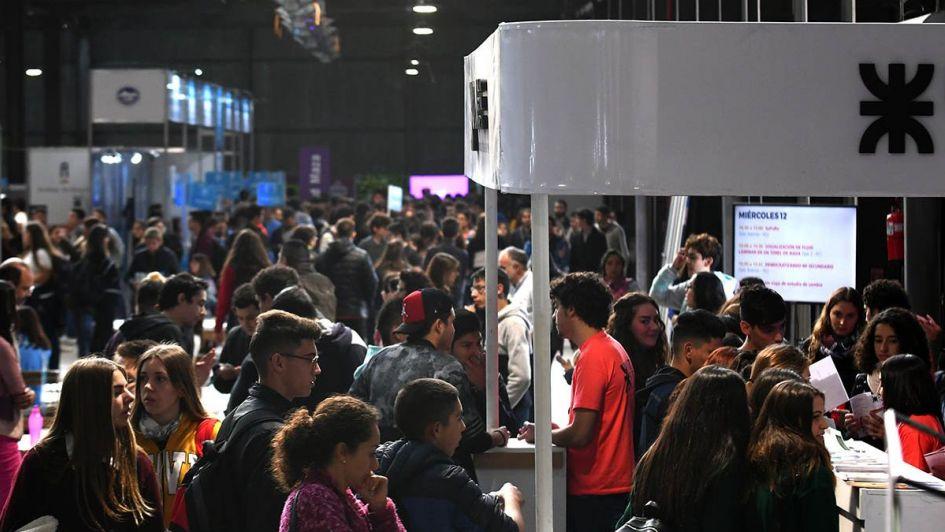 Desorientados y decididos colmaron la Expo Educativa