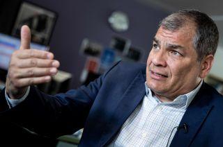 Filtraciones. Correa sostuvo que EE.UU. y Ecuador protegen al presidente Lenín Moreno.