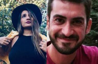 Luciana Montaruli (27), la víctima fatal y  José Paulos(34), el médico imputado.