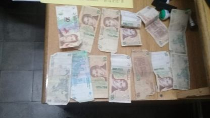 El dinero recuperado.